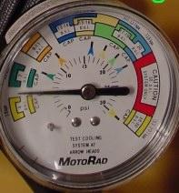 op-off Pressure Adjustments