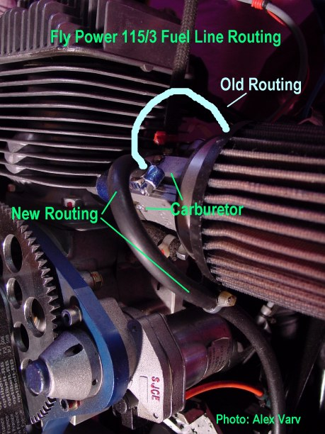 Fuel and fuel line related