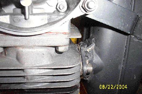 Solo 210 Standard Muffler Modifications
